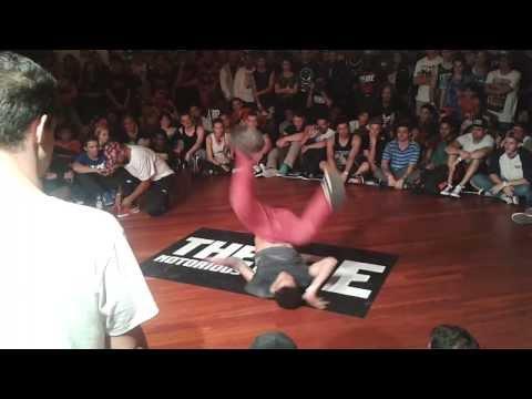 Wild Willy (Holland)  vs Yoriyas (Morroco)  IBE 2013 -  Trick Battle