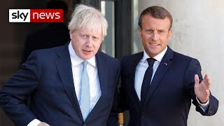 Macron: Irish backstop 'indispensable' to Brexit deal