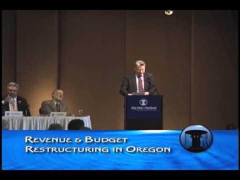 Revenue and Budget Restructuring in Oregon