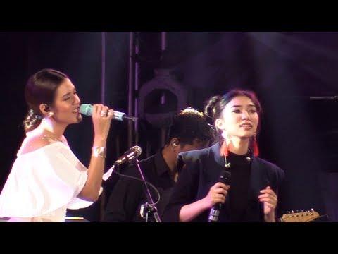 Raisa x Isyana - Anganku Anganmu ~ Medley Serba Salah ~ Kau Adalah @ Prambanan Jazz 2017 [HD]