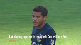 World Cup 2018 Giovani and Jonathan dos Santos