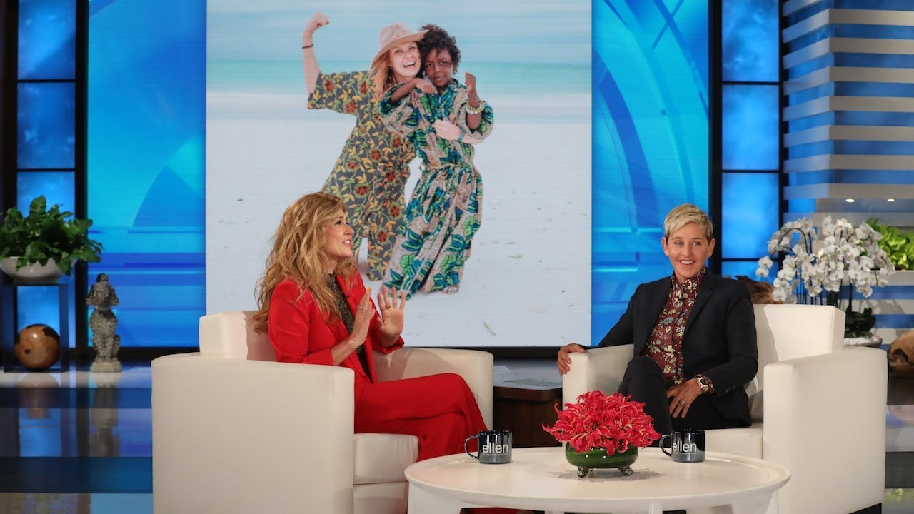 Ellen Confronts Connie Britton About Lying to Her Face