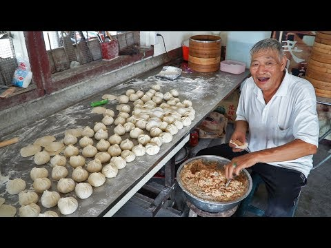 Thumbnail: Most Unique Street Food in Taiwan | RARE Taiwan Street Food Tour - Handmade BEST Taiwan Dumplings