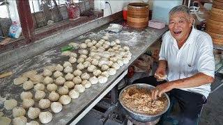 Most Unique Street Food in Taiwan | RARE Taiwan Street Food Tour - Handmade BEST Taiwan Dumplings