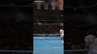 Ivan Lendl's Unbelievable Forehand at the ATP Finals 1991 #Shorts