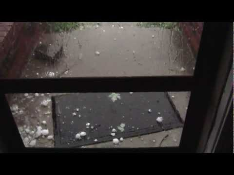 Oklahoma City Hail Storm 5 29 2012
