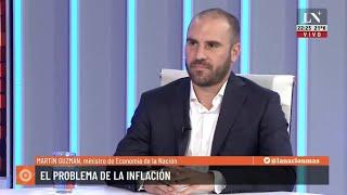Martín Guzmán mano a mano con Carlos Pagni en Odisea Argentina - Entrevista completa