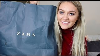 HUGE ZARA HAUL & TRY ON!!!