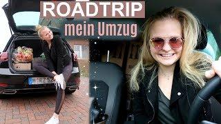 Alleine 5h Roadtrip (Fahranfänger): MEIN UMZUG // Miss Aliana