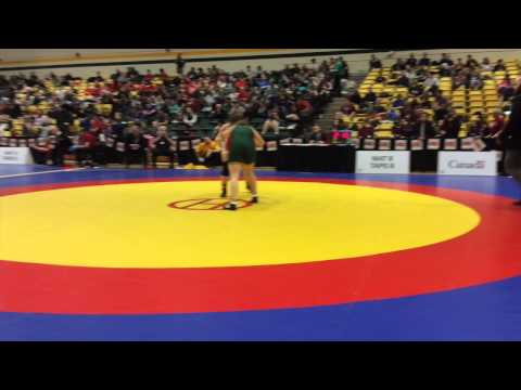 2015 CIS Championships: 67 kg Final Alison Carrow vs. Kayla Brodner