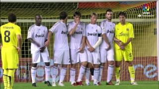 Resumen de Villarreal CF vs Real Madrid (0-2) 2009/2010