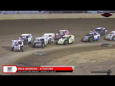 Modified Feature - Clay County Speedway - 8/12/18