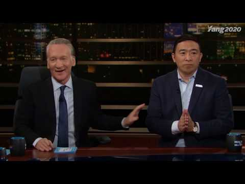 Andrew Yang on Real Time with Bill Maher (Full Interview)