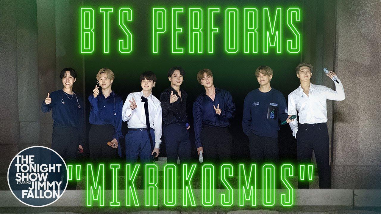 BTS: Mikrokosmos | The Tonight Show Starring Jimmy Fallon
