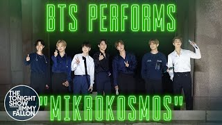BTS: Mikrokosmos | The Tonight Show Starring Jimmy Fallon