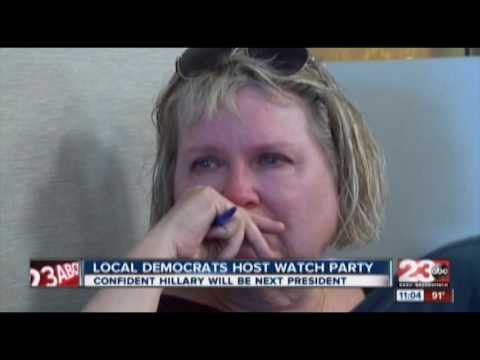 Bakersfield Young Democrats Host Nomination Watch Party