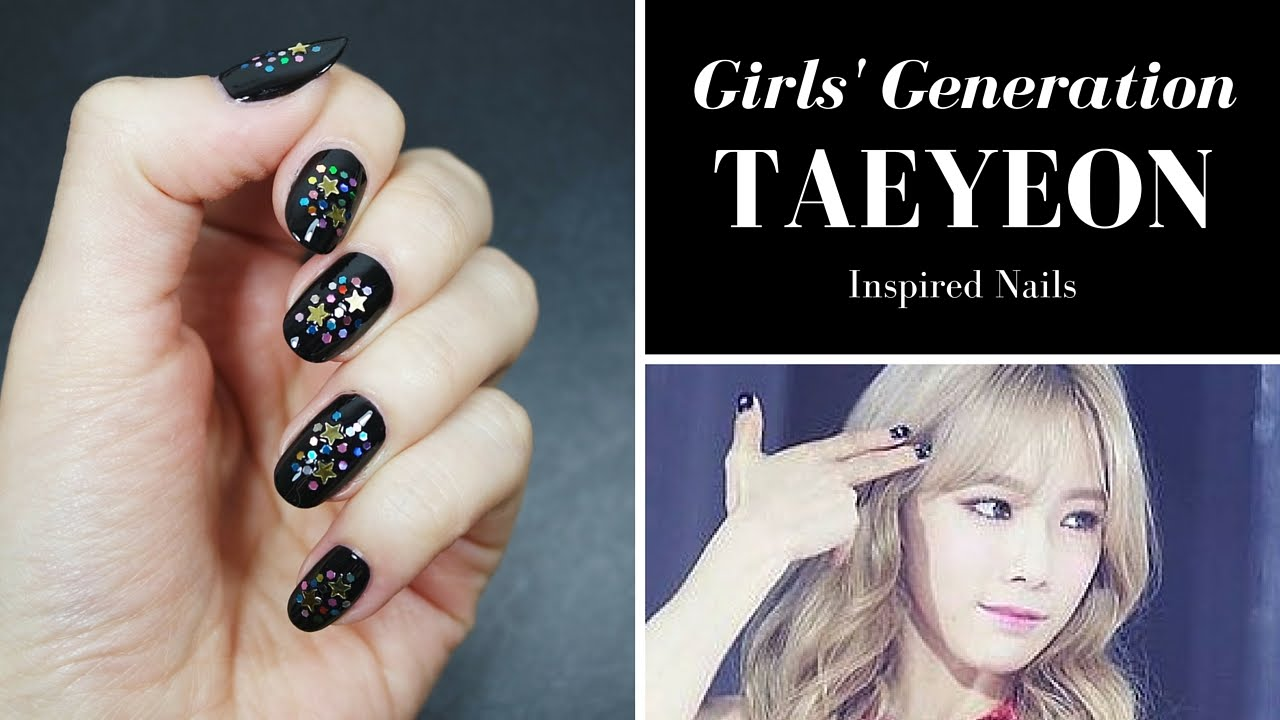 Girls\u0027 Generation TAEYEON Inspired Nails
