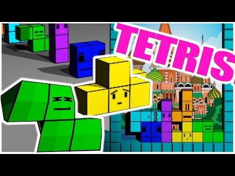 TETRIS!!! - ANIMATED COMEDY!: A misfit group of Tetrominos are forced to make a radical decision when they learn their fate in a routine game of Tetris.   [the