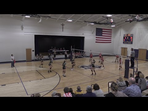ALLENTOWN DIOCESE 2017 GIRLS VOLLEYBALL CHAMPIONSHIP 2017 ST ANNES VS ST THOMAS MOORE