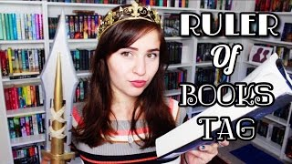 I AM THE QUEEN | Ruler of Books Tag!
