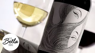 Eyes and hair transform into wine artwork! - Belle Radici, PART 2
