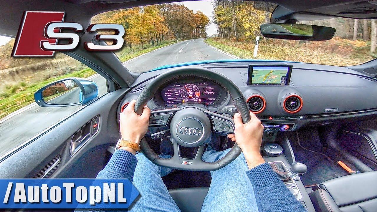 2019 Audi S3 Sportback 2.0 TFSI Quattro S-Tronic POV Test ...