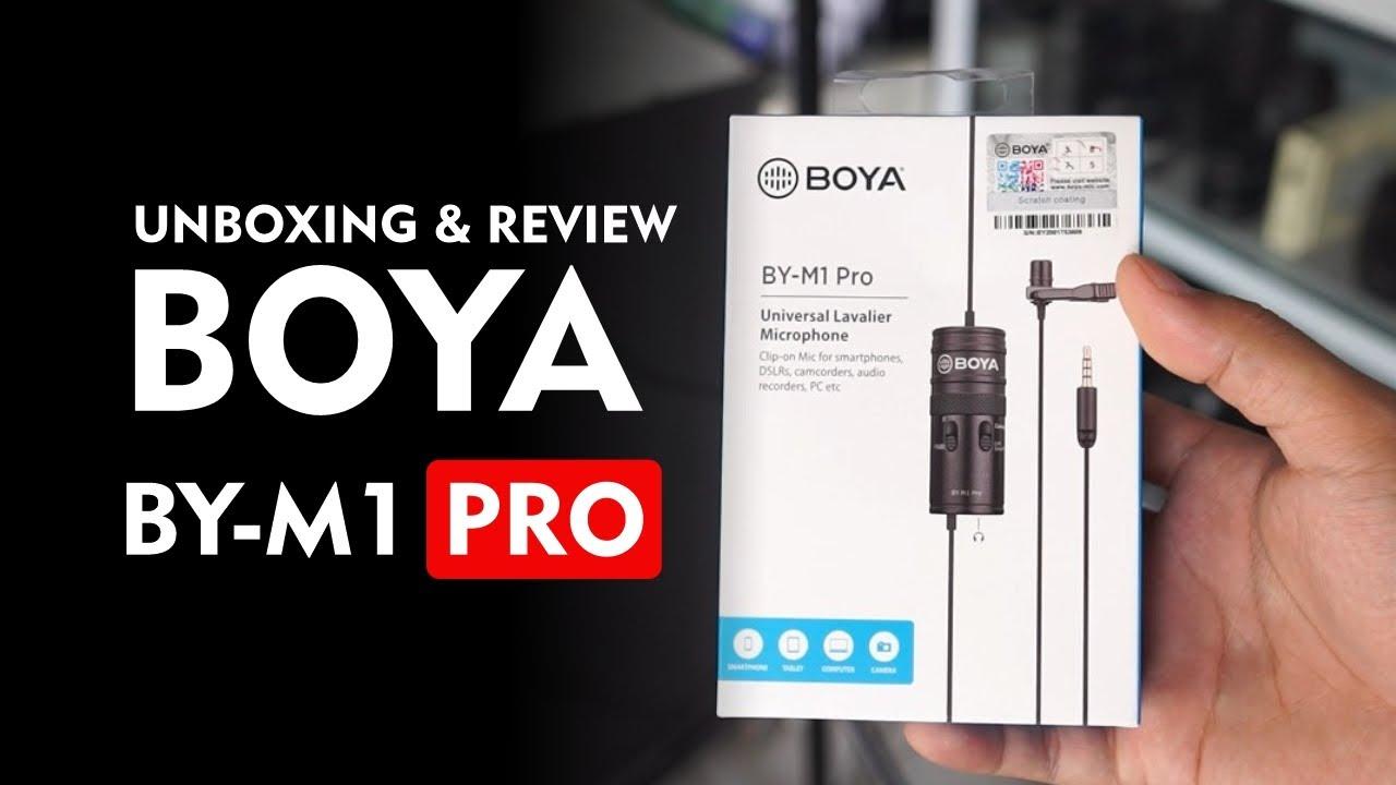 Unboxing dan Review Hasil Suara Boya BY-M1 Pro Indonesia - Ada Fitur  -10dB dan Port Audio