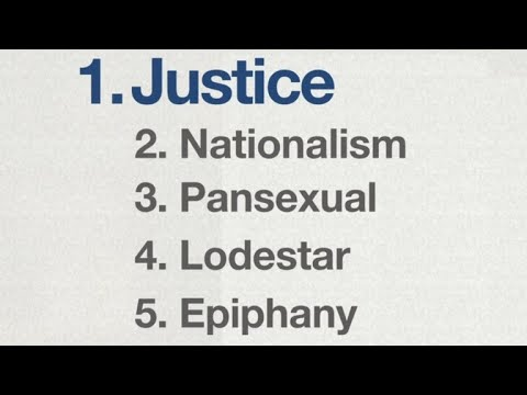 """Justice"" named word of the year by Merriam-Webster Dictionary"