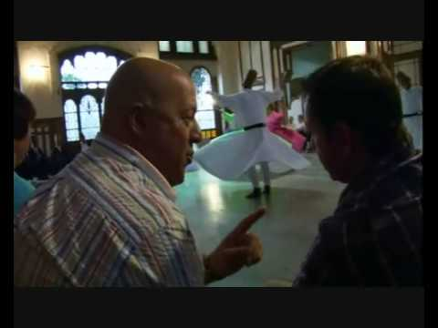 Andrew ZIMMERN&Besim ISIKOGLU On Travel Channel Bizzare World Turkey Show