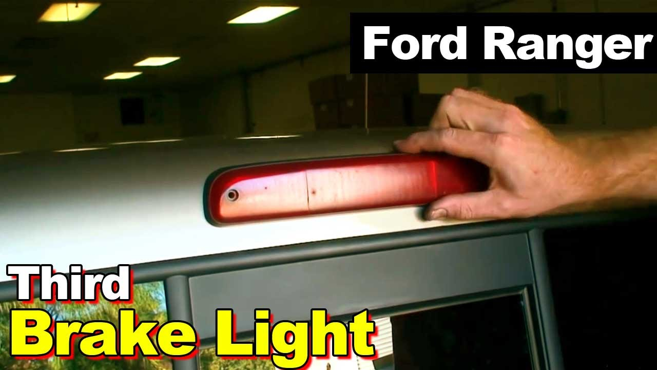 2003 Ford Ranger Third Brake Light Leaking Youtube