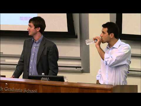 Finance Professional Speakers: Yaron Naymark and Matthew Bates