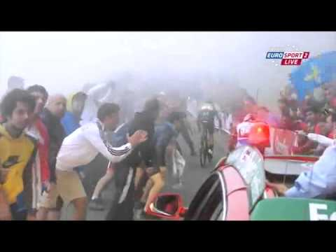 Chris Horner wins La Vuelta on the Angliru