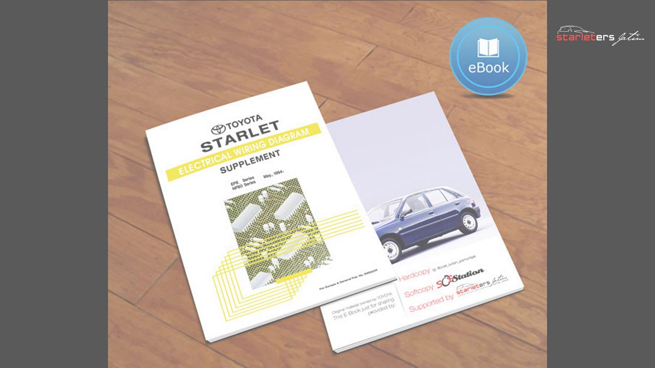 Toyota Starlet E Book Youtube Wiring Diagram