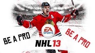 Český Let´s play | NHL 13 | Be a Pro | 1. Díl | Xbox 360