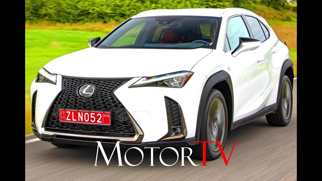 All New 2019 Lexus Ux 200 F Sport White L Drive L Design Youtube
