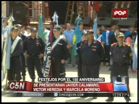 C5N -  POLITICA: DANIEL SCIOLI EN EL 150 ANIVERSARIO DE SUIPACHA