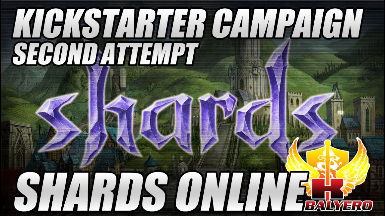 Shards Online Second Kickstarter Attempt Is Up And Running
