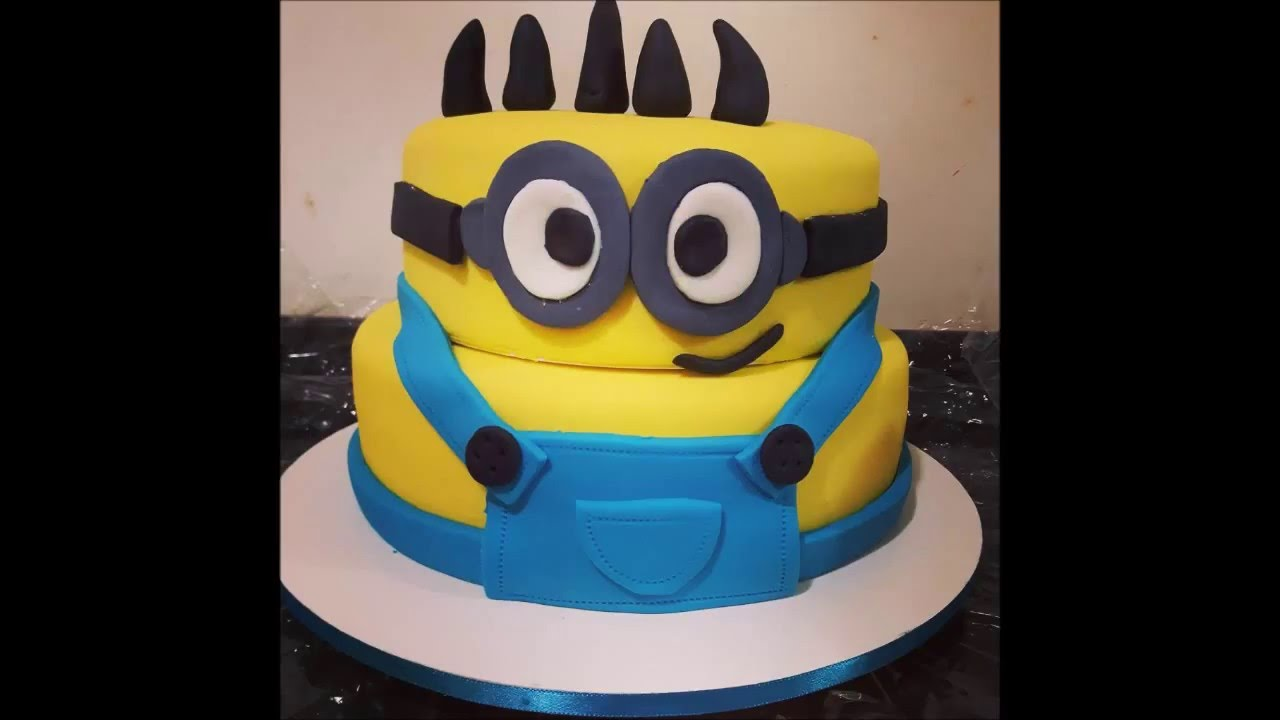 New Cake Design Mini Minions