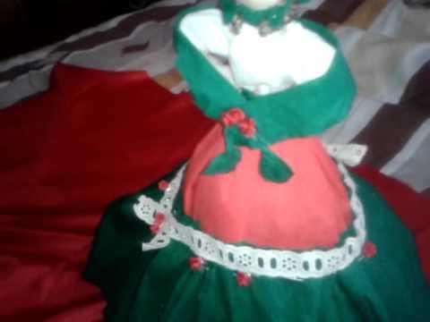 Centro De Meza muñeca mexicana vestido de fantacia