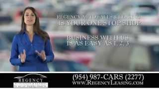 Regency Leasing - South Florida Auto Leasing Company