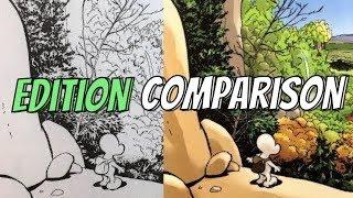 (Karikatür Kitapları vs Skolastik)kemik: Baskı ve Renk Karşılaştırma - Siyah+Beyaz HC vs Renk PB