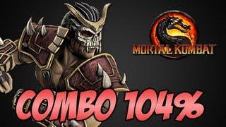 Shao Kahn 104% Combo - Mortal Kombat PC