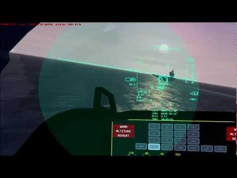 Simulation of AIM-9M boresight target (BST) acquisition mode in FSX/ESP.