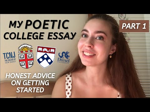 Reading My Ivy League Common App Essay   How To Be Creative And Genuine
