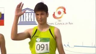 Дети Азии 110 м с/б юноши финал