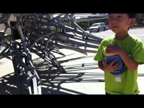 Toddler Alien Sculpture