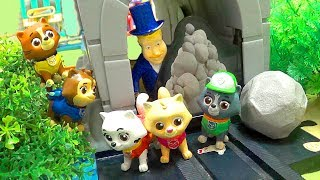 Видео Щенячий Патруль - Завал в тоннеле - новая серия. Paw Patrol Captain Turbot Diving Bell (автор: BooGee Buba Crew)