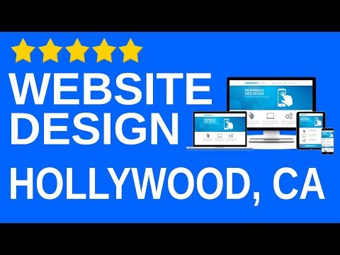 Hollywood CA local Website design agency company Professional affordable Website builder 90069
