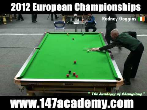 2012 European Snooker Championships - Rodney Goggins 100 Break