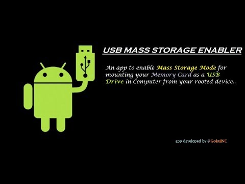 ENABLE USB MASS STORAGE MODE IN ANY ANDROID DEVICES RUNNING ANDROID LOLLIPOP(5.0) OR HIGHER !!